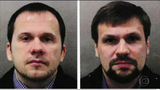 Polícia divulga nomes e fotos de suspeitos de terem envenenado ex-espião russo no Reino Unido
