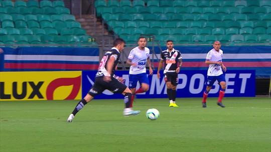 Luxemburgo vê jogo equilibrado entre Vasco e Bahia e lamenta rigor da arbitragem