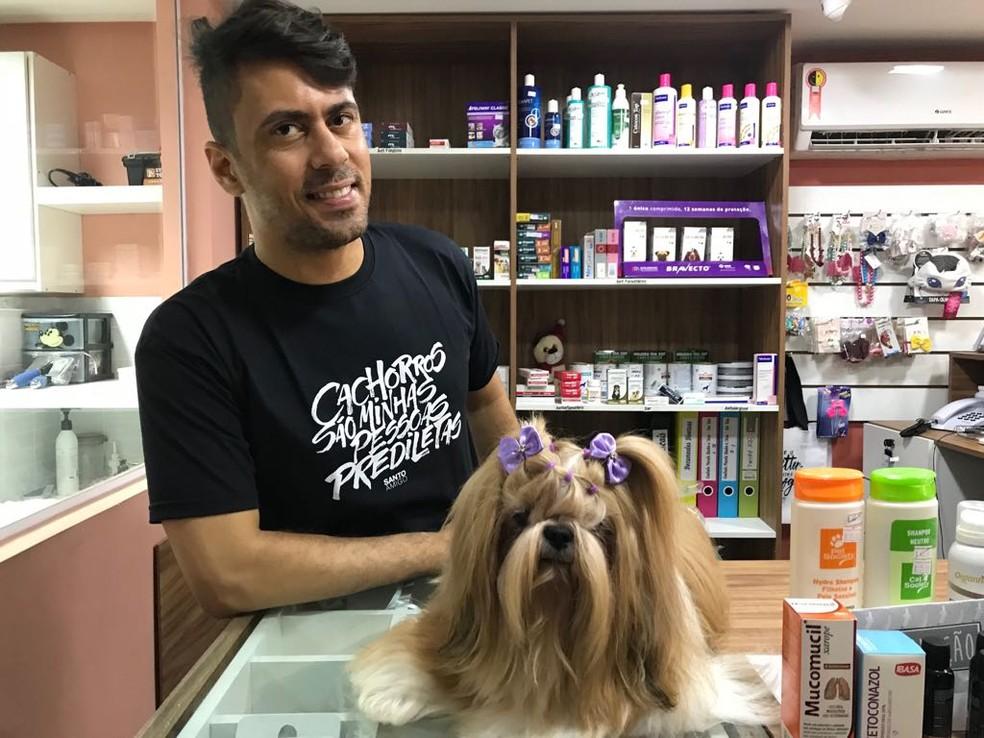 Dolly foi a responsável pela melhora do estado de saúde de Gabriel (Foto: Gabriel Matos/ Arquivo pessoal)