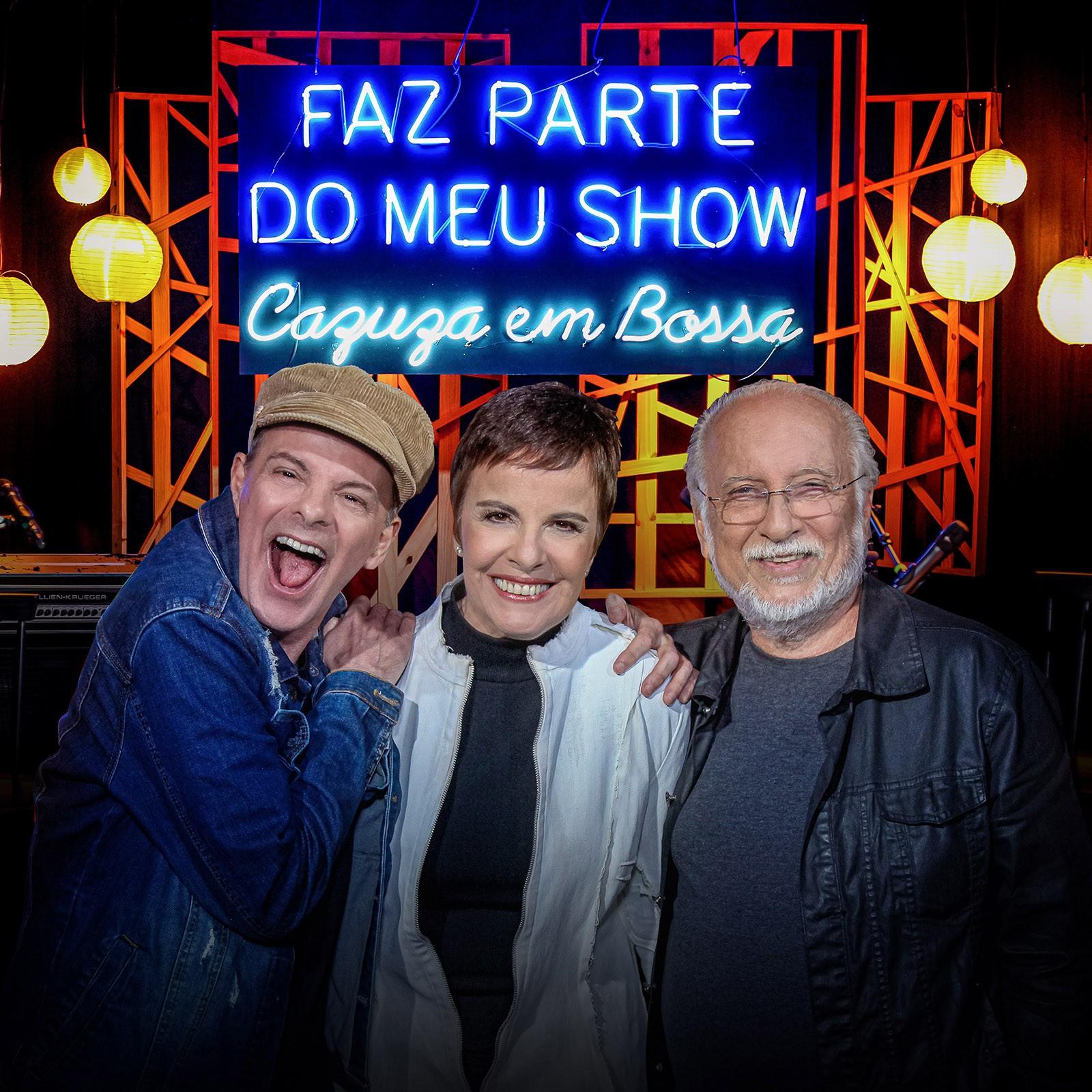 Oito hits de Cazuza ganham a bossa de Leila Pinheiro, Roberto Menescal e Rodrigo Santos em álbum ao vivo