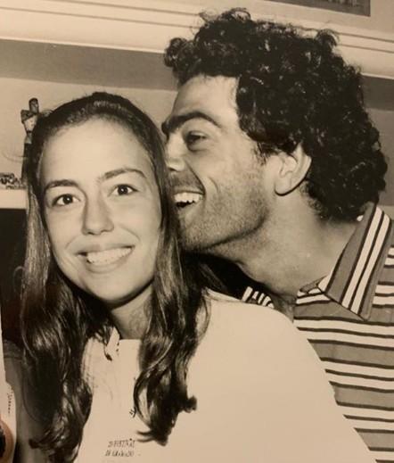 Eduardo Moscovis e Roberta Richard (Foto: Reprodução)
