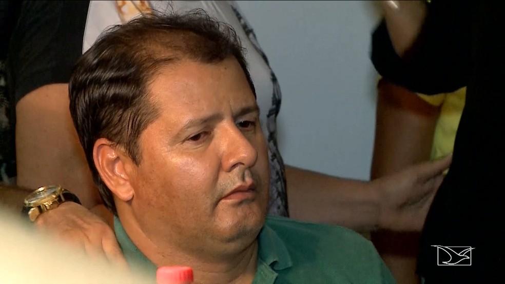 Mariano Fillho é considerado o principal suspeito do assassinato do pai, segundo a polícia. (Foto: Reprodução/TV Mirante)