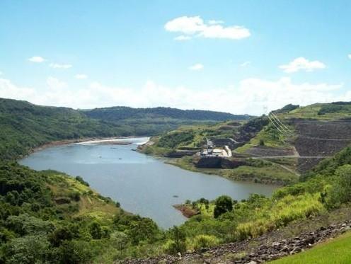 Usina fica na divisa entre Santa Catarina e Rio Grande do Sul (Fot Prefeitura de Machadinho)