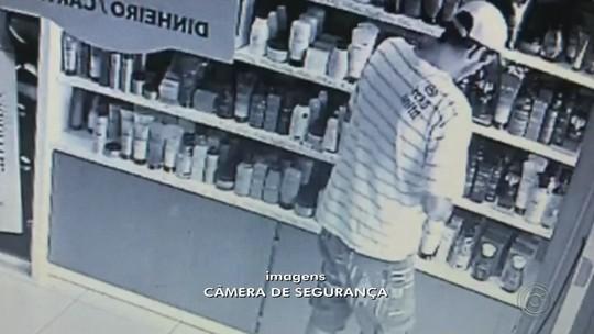 Ladrão 'profissional' é preso após furtar vidro de perfume em Pirajuí; vídeo