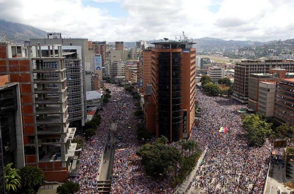 venezuela3 - ONU diz que mais de 40 pessoas morreram e 850 foram presas na Venezuela