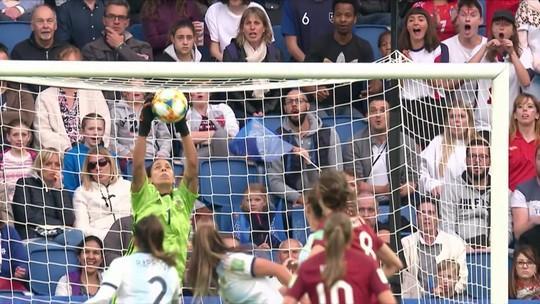 Melhores momentos: Inglaterra 1 x 0 Argentina pela Copa do Mundo de Futebol Feminino