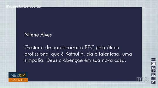 Kathulin Tanan é a nova repórter da RPC Londrina