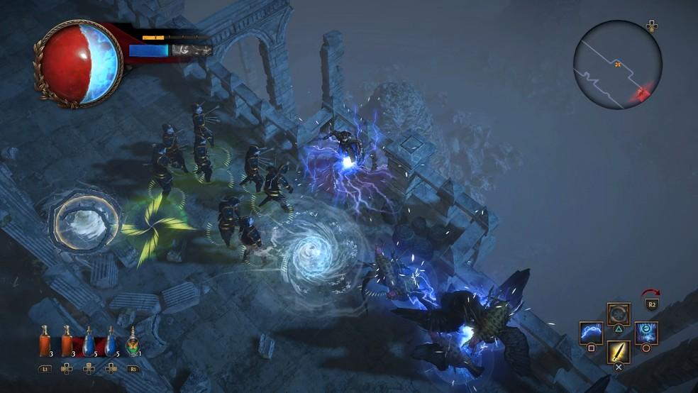 Path of Exile é RPG ambientado em mundo de fantasia obsucuro — Foto: Divulgação/Grinding Gear Games
