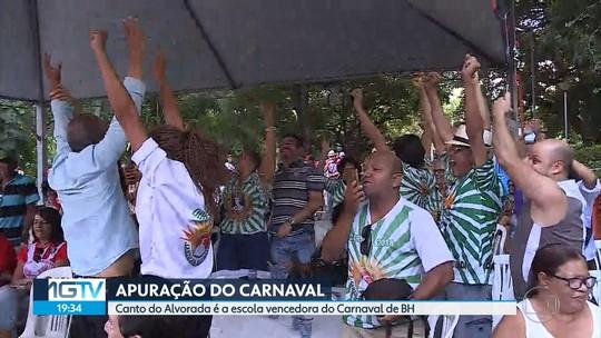 Canto da Alvorada é a escola de samba campeã do carnaval de Belo Horizonte