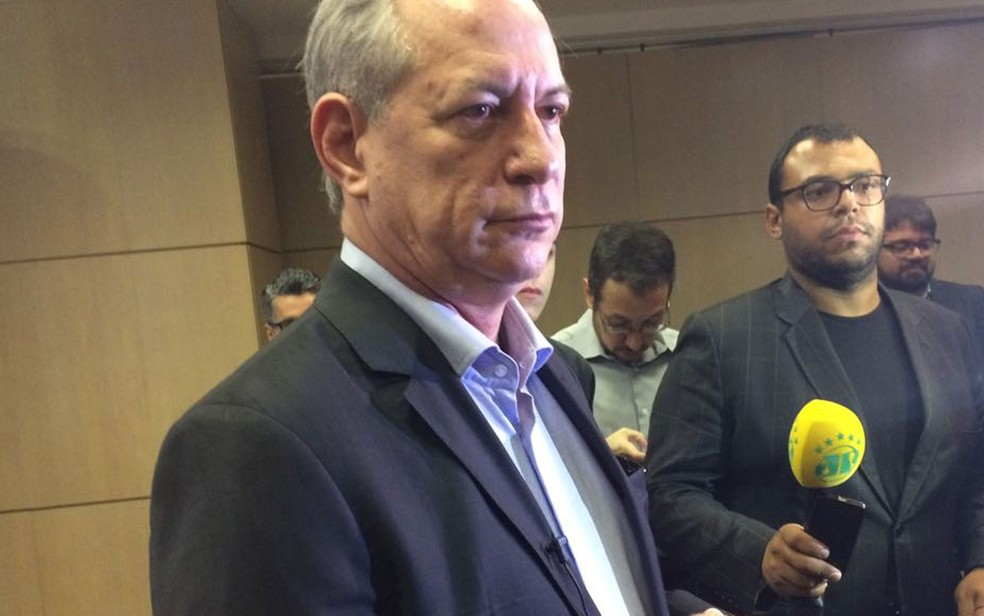 Pré-candidato à Presidência da República Ciro Gomes (PDT) (Foto: Tahiane Stochero/G1)