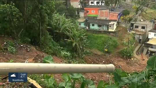 Quatro pessoas de uma mesma família morreram soterradas em Ribeirão Pires com a chuva
