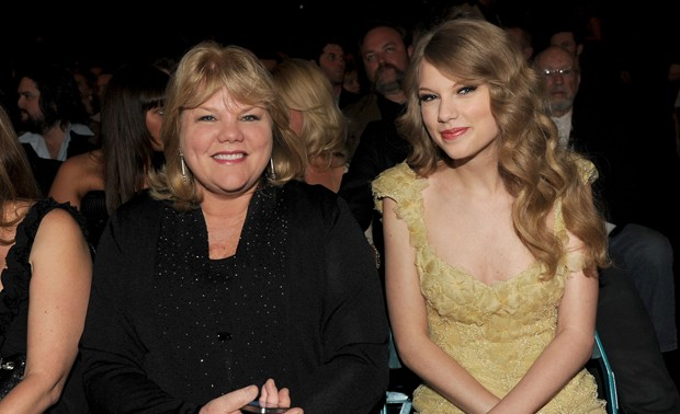 Andrea Finlay e Taylor Swift (Foto: Getty Images)