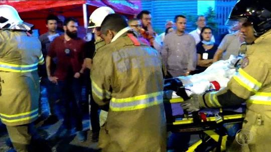 Sobe para 12 o nº de mortos após incêndio em hospital do Rio