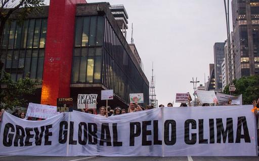 Greve global pelo clima: o protesto pelas lentes de Karla Brights