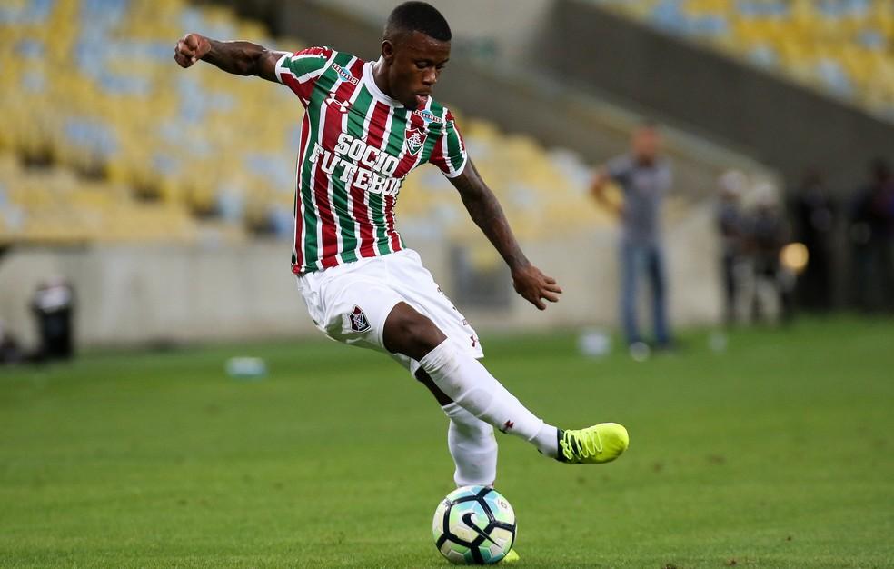 Marquinhos Calazans surgiu bem em 2017 até sofrer lesão e precisar operar o joelho (Foto: Lucas Merçon / FluminenseFC)