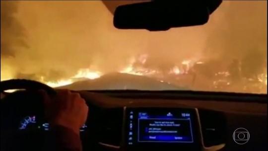 Sobe para 31 o número de mortos em incêndios na Califórnia