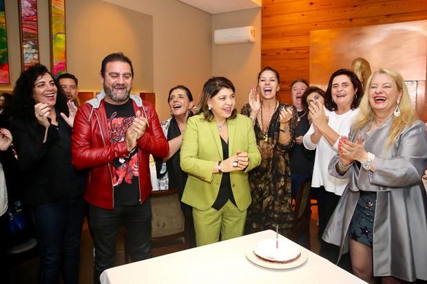 Roberta Miranda comemora 62 anos em São Paulo (Foto: Manuela Scarpa / Brazil News)