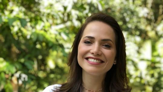 Letícia Colin celebra parceria com Chay Suede e Danilo Mesquita, e entrega spoiler de 'Segundo Sol'
