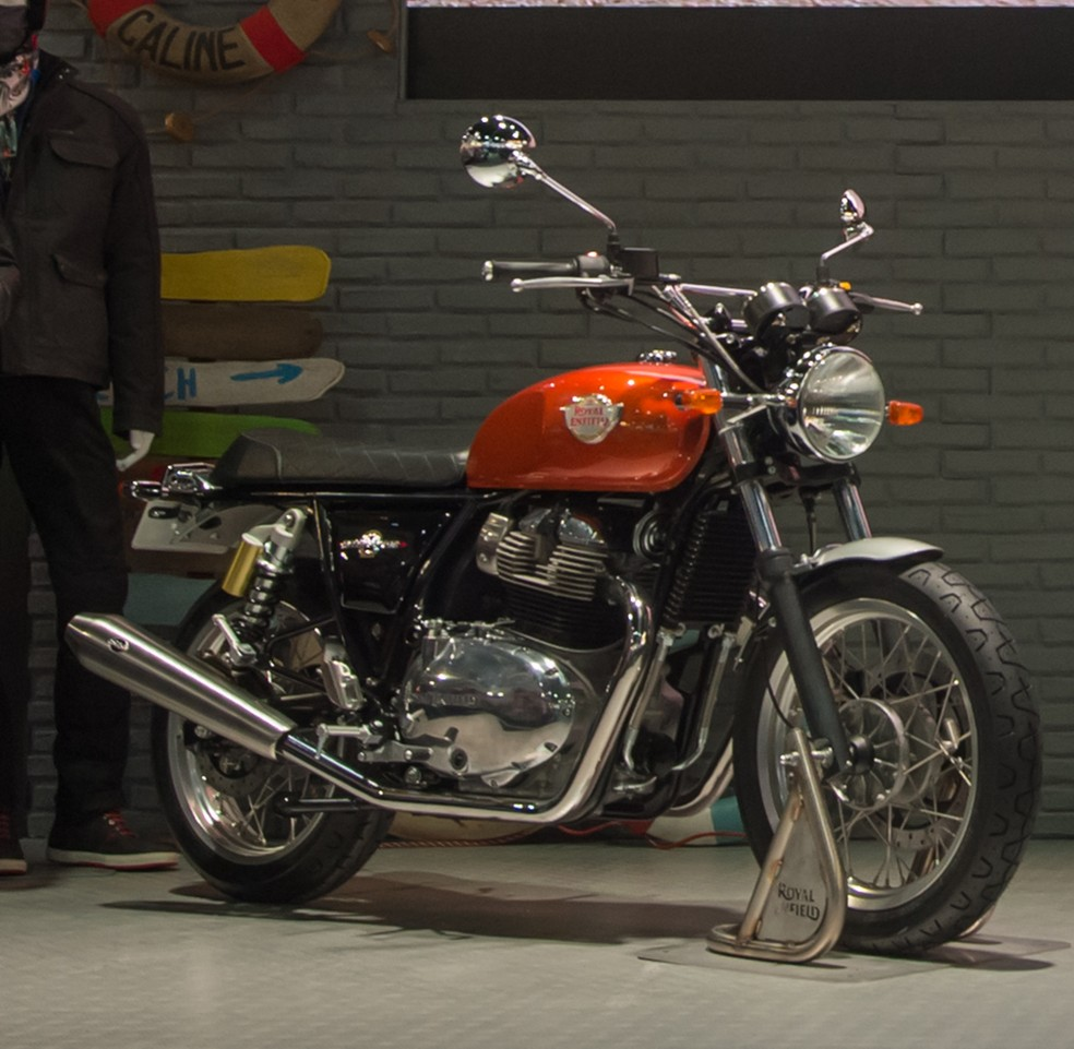 Royal Enfield Interceptor e Continental  — Foto: Royal Enfield/Divulgação