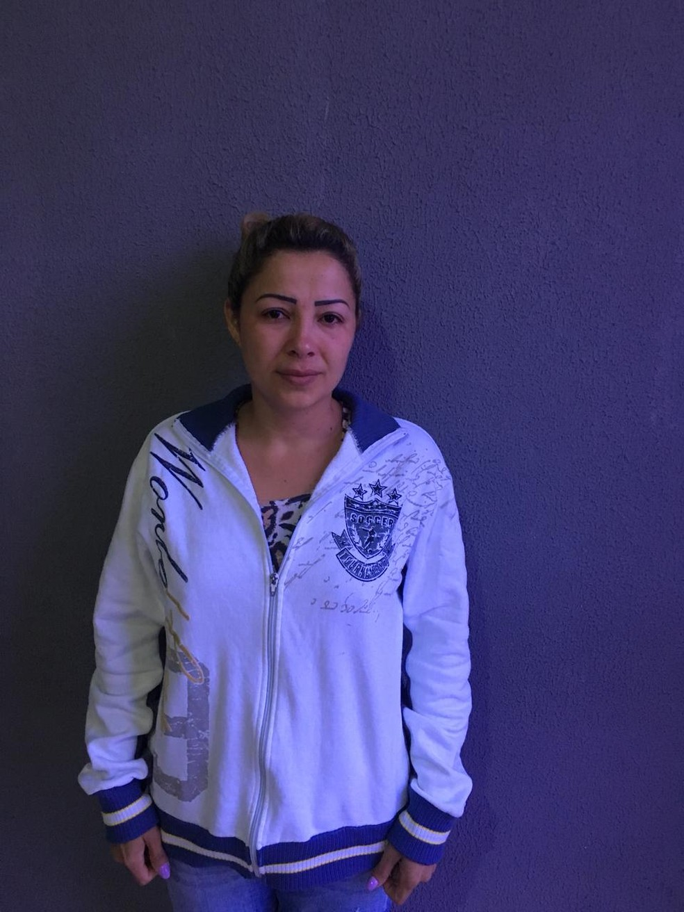 Cléia Rosa dos Santos, de 35 anos, foi presa após o crime — Foto: Polícia Civil/Divulgação