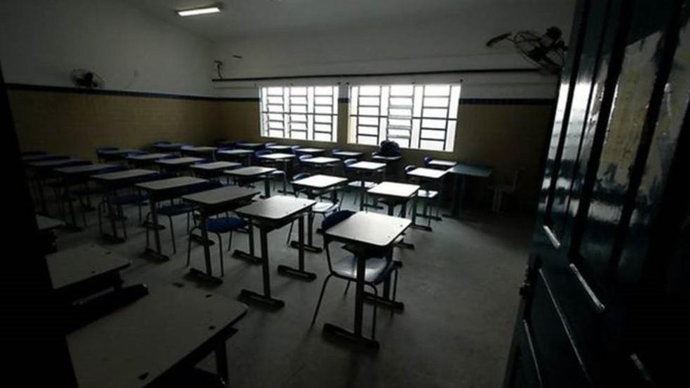 Aulas presenciais ainda não têm data para voltar em Pernambuco — Foto: Secretaria da Educação de Pernambuco/Divulgação