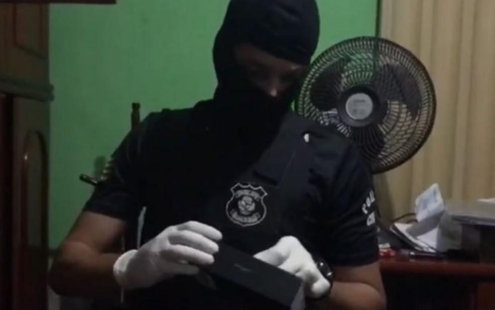 Operaçãi Luz da Infância cumpre mandados de busca e apreensão em Goiânia, Goiás (Foto: Polícia Civil/ Divulgação)