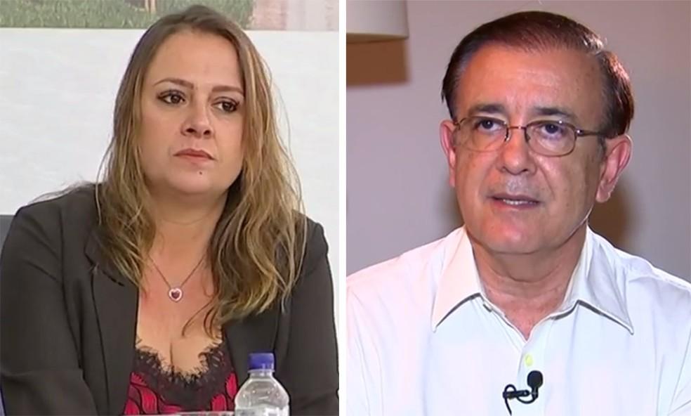 Tatiane Polis era chamada de 'doutora' e 'vossa excelência' em e-mails enviados por Crespo — Foto: Reprodução/TV TEM
