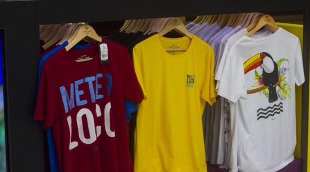 Algumas das camisetas da TFlow (Foto: Divulgação)