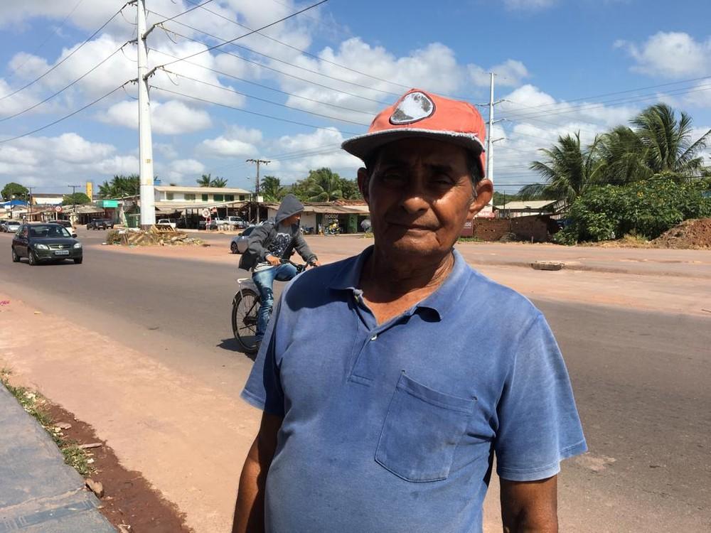 Benedito Pereira, morador da Zona Sul, já teve dengue — Foto: Caio Coutinho/G1