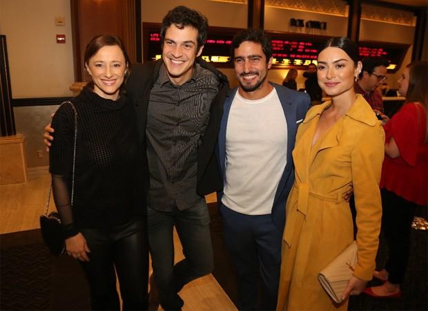 Paula Braun, Mateus Solano, Renato Góes e Thaila Ayala (Foto: Marcos Daniel Ferreira/Divulgação)