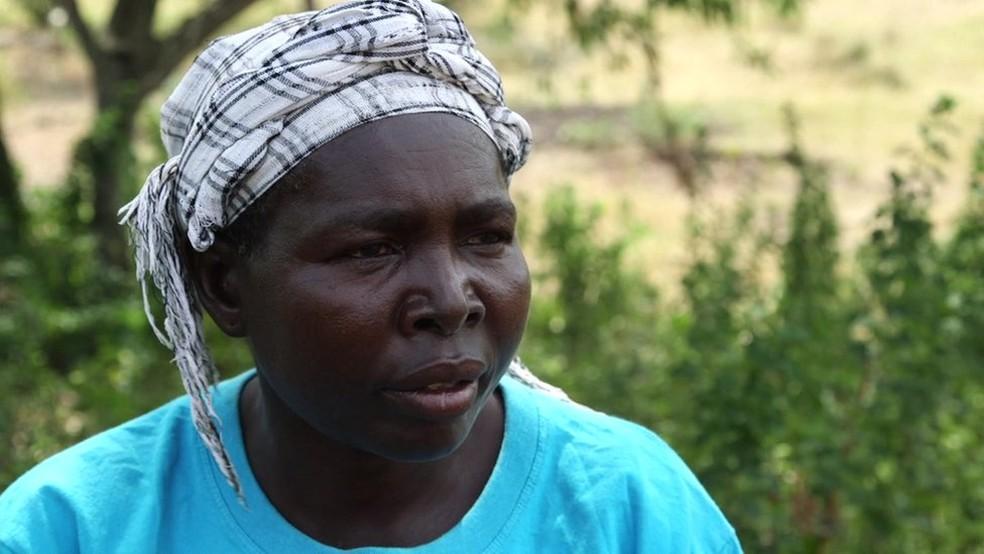 Pamela foi infectada pelo vírus da Aids durante ritual (Foto: BBC)