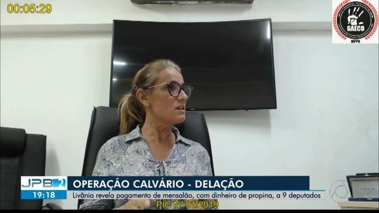 'Calvário': ex-secretária diz que deputados recebiam dinheiro para aprovar matérias do governo