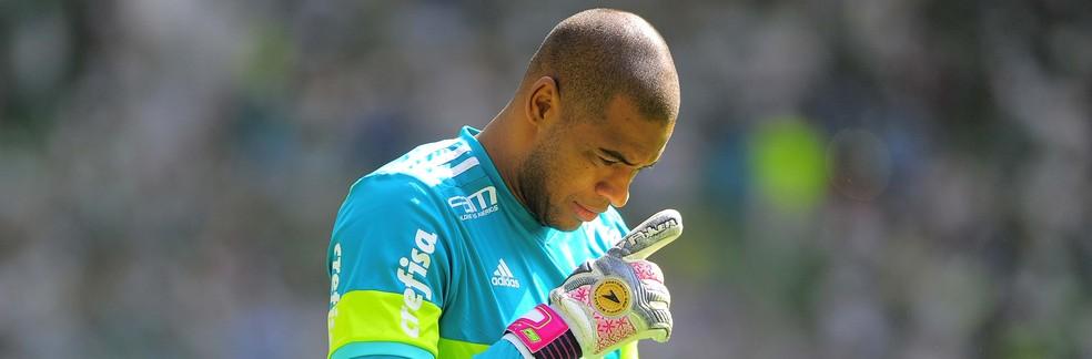 Jailson, goleiro do Palmeiras (Foto: Marcos Ribolli)