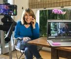 Renata Sorrah gravando o 'Zorra' | Globo/Divulgação