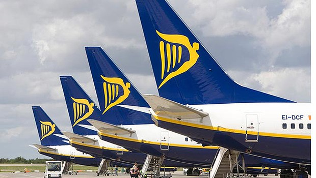 Voo da Ryanair (Foto: Getty Images)