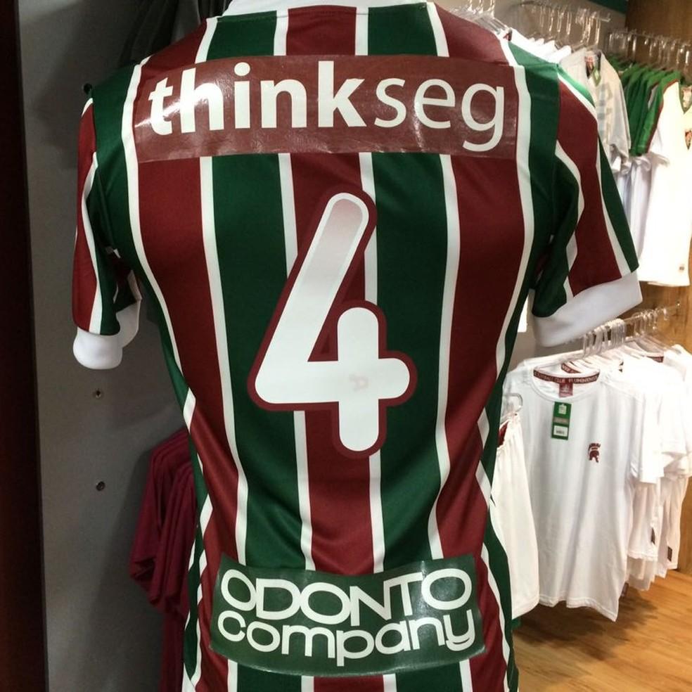 ... Marcas da Thinkseg e da Odontocompany serão exibidas na camisa do  Fluminense na final do Carioca 68d89b2a8f907