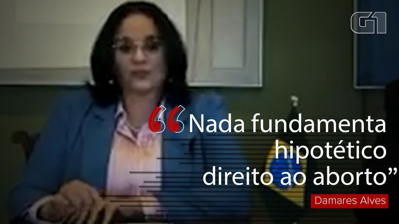 Damares Alves: Nada fundamenta 'hipotético direito ao aborto'