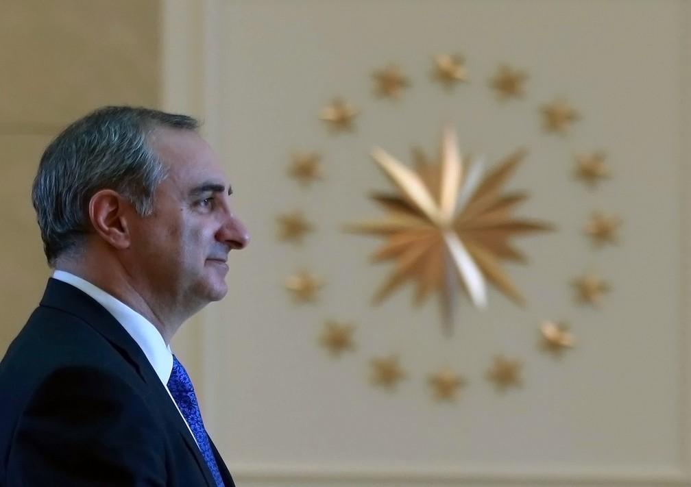 Eitan Naeh, embaixador de Israel em Ancara, em imagem de arquivo (Foto: Adem Altan/AFP)