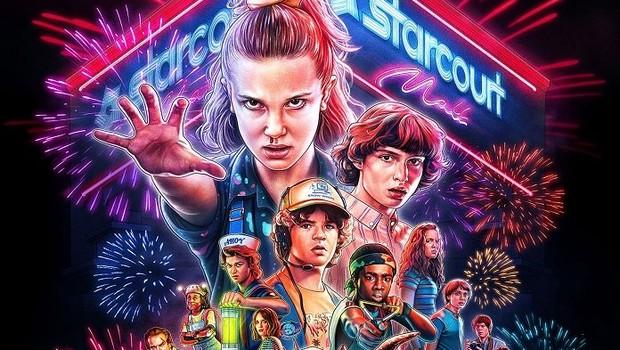 Stranger Things: série da Netflix deu luz aos anos 1980 para uma nova geração de consumidores (Foto: Divulgação)