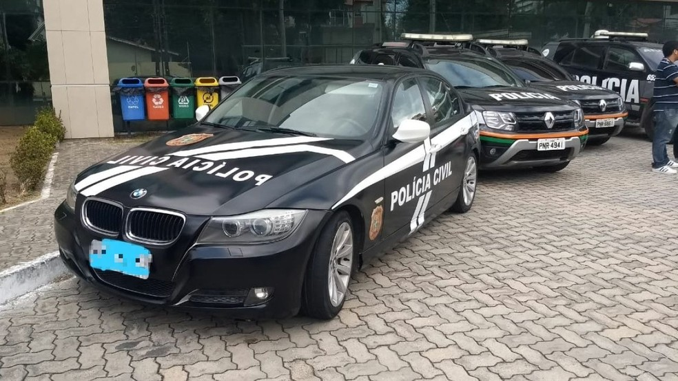 Veículo de luxo passa a integrar a frota da Polícia Civil do Ceará — Foto: SSPDS/Divulgação