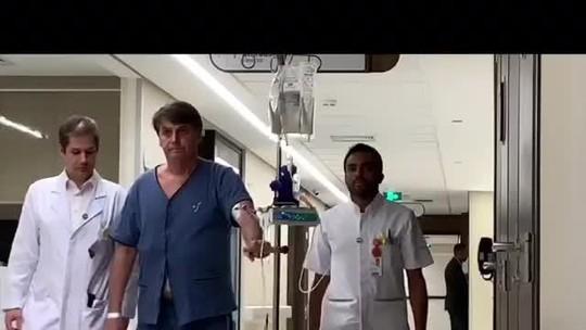 Bolsonaro tem sonda retirada e volta a se alimentar com dieta líquida, diz boletim