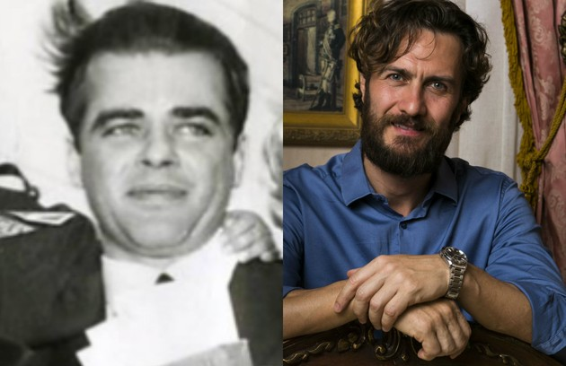 Gabriel Braga Nunes viverá Décio Capuano, o primeiro companheiro de Hebe (Foto: Reprodução e TV Globo)