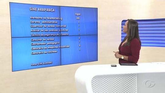Sine oferta vagas de empregos para diversas áreas em Maceió e no interior