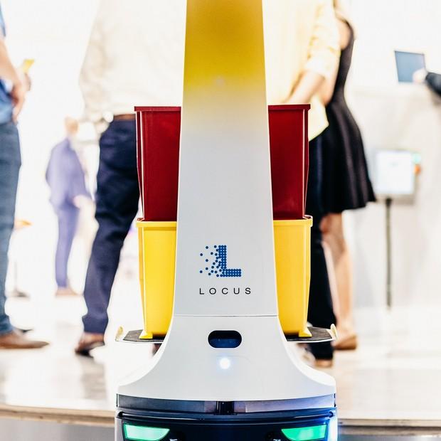 Centro de inovação da DHL em Chicago (Foto: Fox Harrison/DHL)