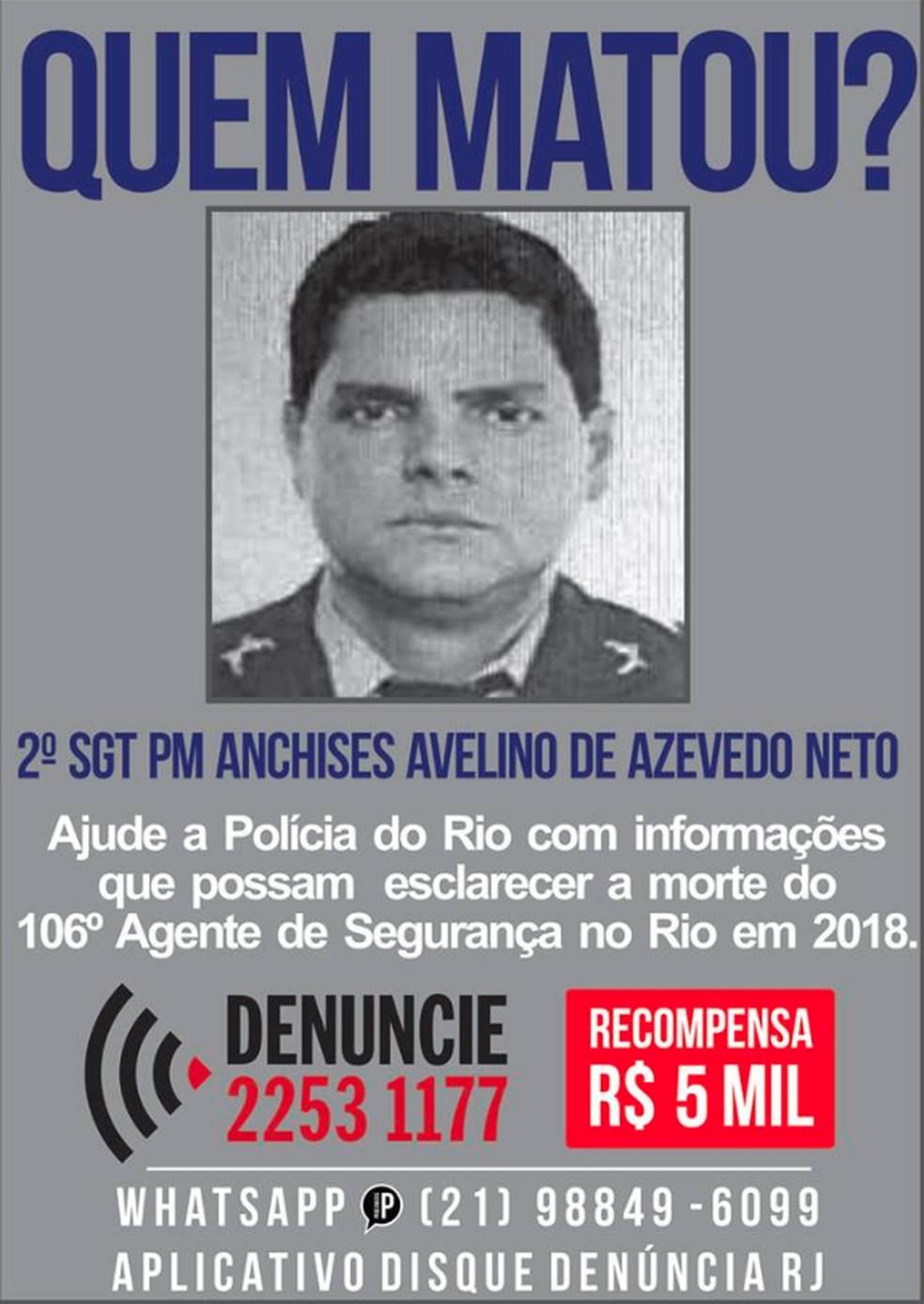 Sargento da PM é morto em Maricá e polícia busca os suspeitos do crime — Foto: Reprodução/Facebook