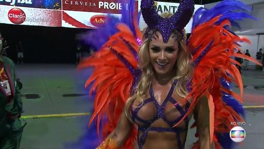 X-9 Paulistana renova com Juju Salimeni como rainha de bateria para o carnaval de 2019