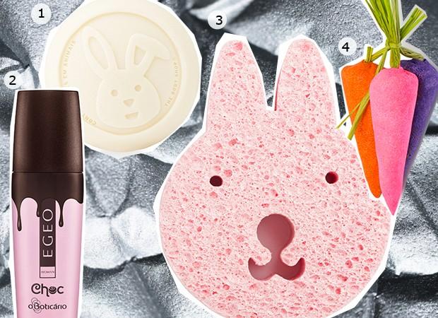 Produtos de beleza para a Páscoa (Foto: Divulgação)