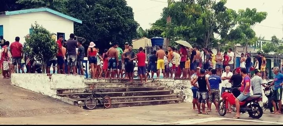 Após o crime, população de Juruti Velho se revoltou e ameaçou linchar Joezio de Souza — Foto: Divulgação/Polícia Civil de Juruti