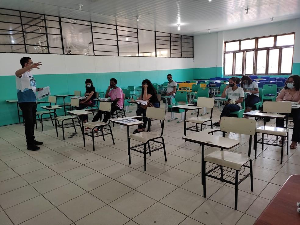 Projeto da Secretaria de Educação volta a ofertar aulas presenciais — Foto: Seed/Divulgação