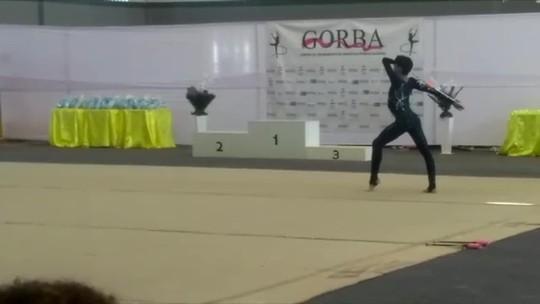 Quebra de recordes: Ginasta de Rondônia conquista o primeiro ouro e alcança a maior nota de Rondônia em competições nacionais